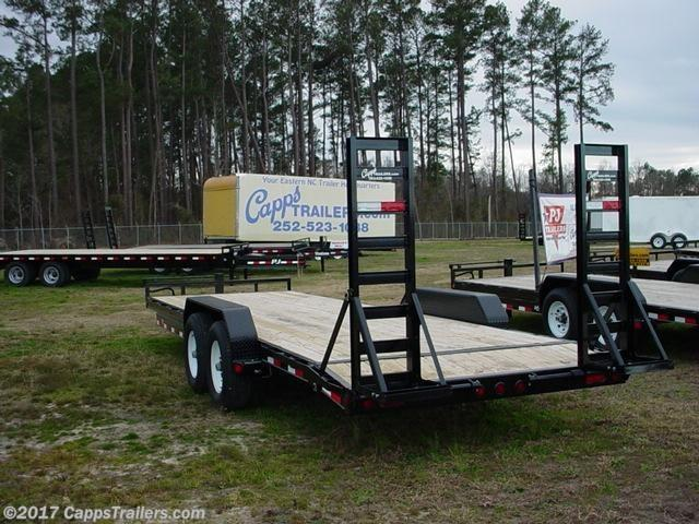 2020 PJ Trailers PJ CCJ2472BSBKBT 14K Car Trailer