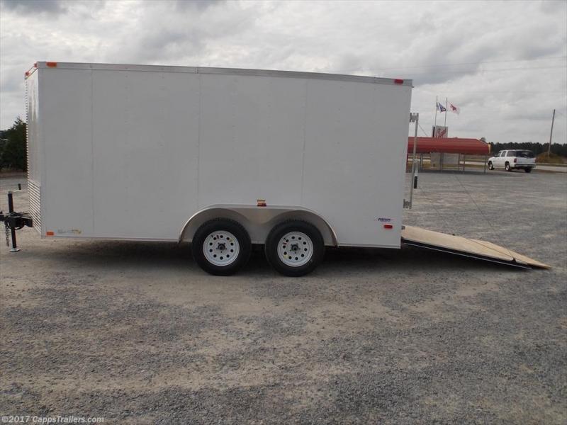 2020 Freedom Trailers FD 7X14TA2-VN+3 Enclosed Cargo Trailer