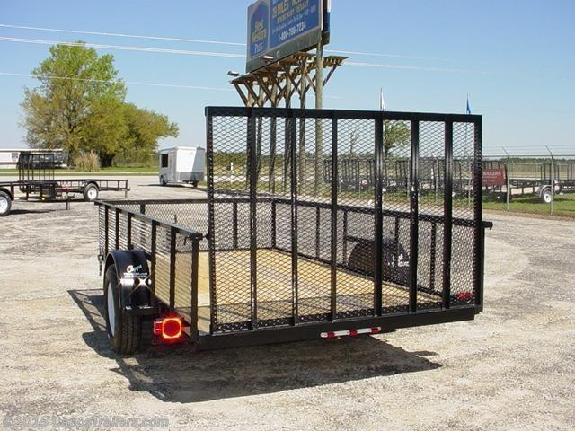 2020 Carry-On CO 6X10GWHS Utility Trailer