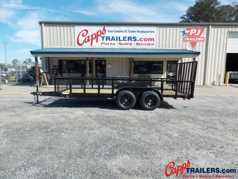 2020 Carry-On CO 6x16GWHS1BRKBLK Utility Trailer