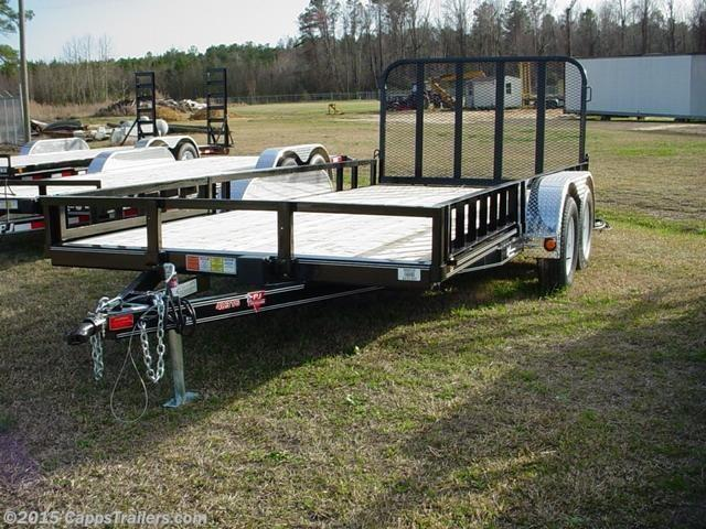 2020 PJ Trailers UL21632CSGKAJ ATV Trailer