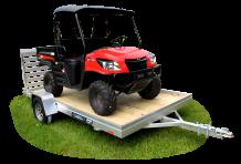 2020 Aluma 7810ESA-S-TG Utility Trailer