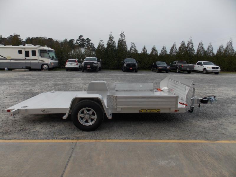 2020 Aluma 8214H-TILT-S-EL-RTD Sling Shot Utility Trailer