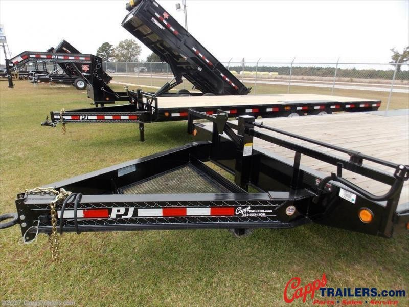 2020 PJ Trailers PJ F8J2272BSBKMR 14K Flatbed Trailer