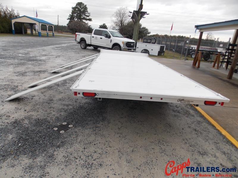 2020 Aluma A8818TA-EL-R Flatbed Trailer