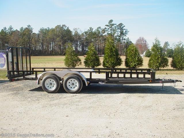 2020 PJ Trailers UL21832CSBKAJ ATV Trailer