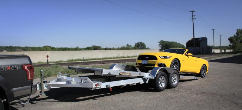 2020 Aluma AL 8218HTILT Car / Racing Trailer