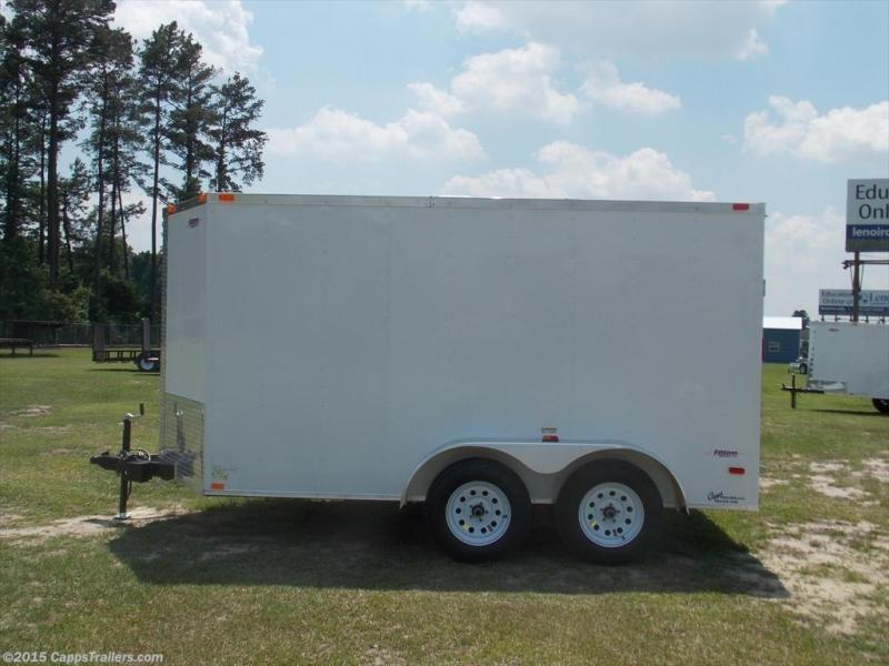 2020 Freedom Trailers FD 6X12TA2-VN+3 Enclosed Cargo Trailer