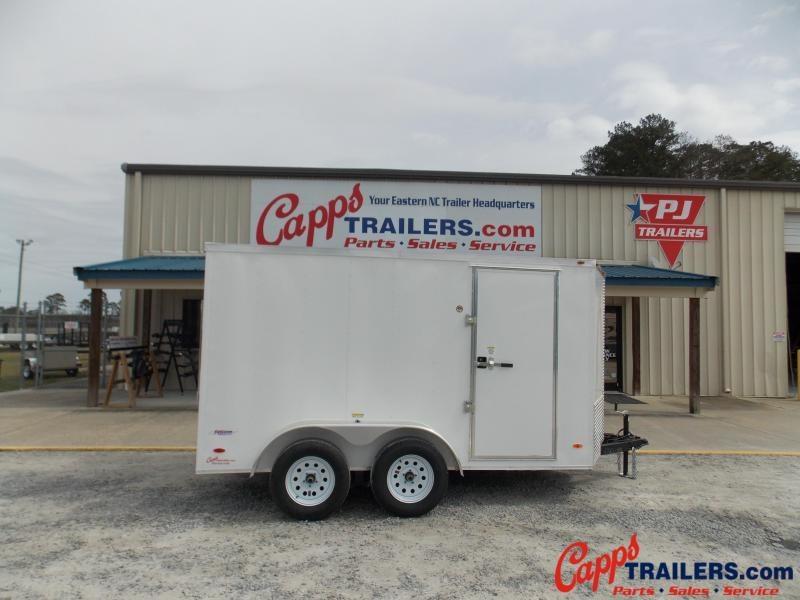 2020 Freedom Trailers FD 6X12TA2-VN+3 Enclosed Cargo Trailer
