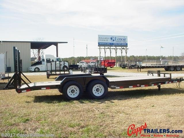 2020 PJ Trailers CCJ2072BSBKBT Car Trailer