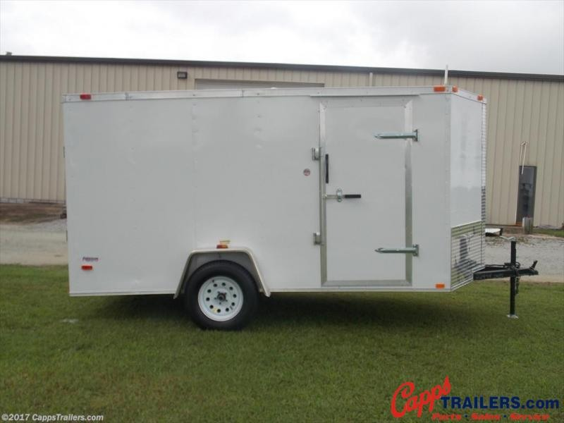 2020 Freedom Trailers FD 6X12SA-VN Enclosed Cargo Trailer
