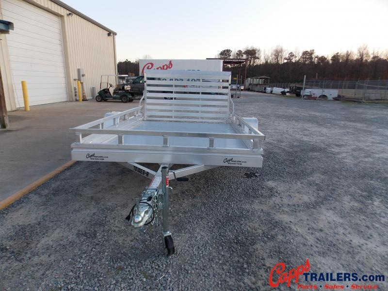 Aluma 7810ESA-S-TG-LADDER RACK UTILITY TRAILER