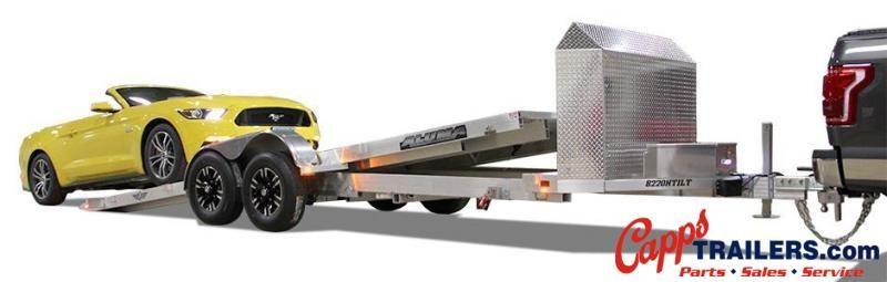 2020 Aluma AL 8220HTILTANV Car / Racing Trailer