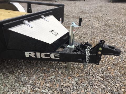 2018 Rice TDP7612 Utility Trailer