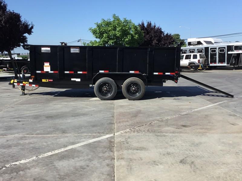 New 2020 Big Tex 16LX-16P3 17.5 GVW 7x16 Dump Trailer