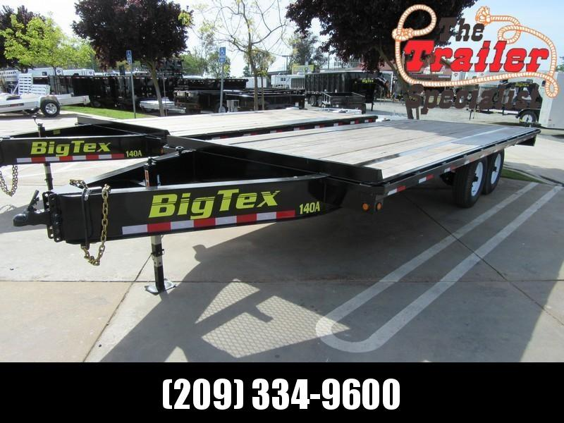 "NEW 2020 Big Tex Trailers 14OA-20-8SIR 102""x20"