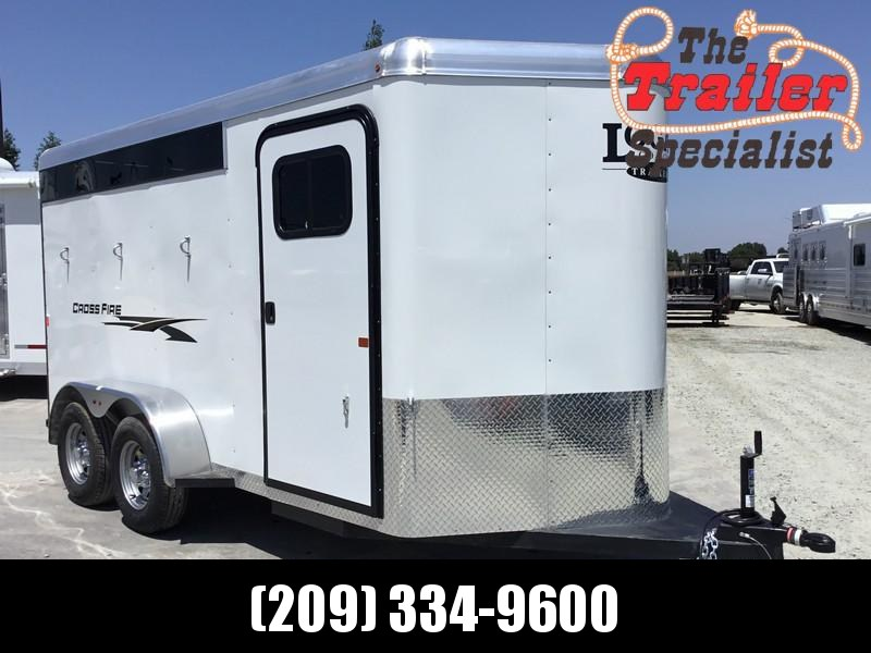 New 2020 Logan Coach Crossfire 3H Horse Trailer BP