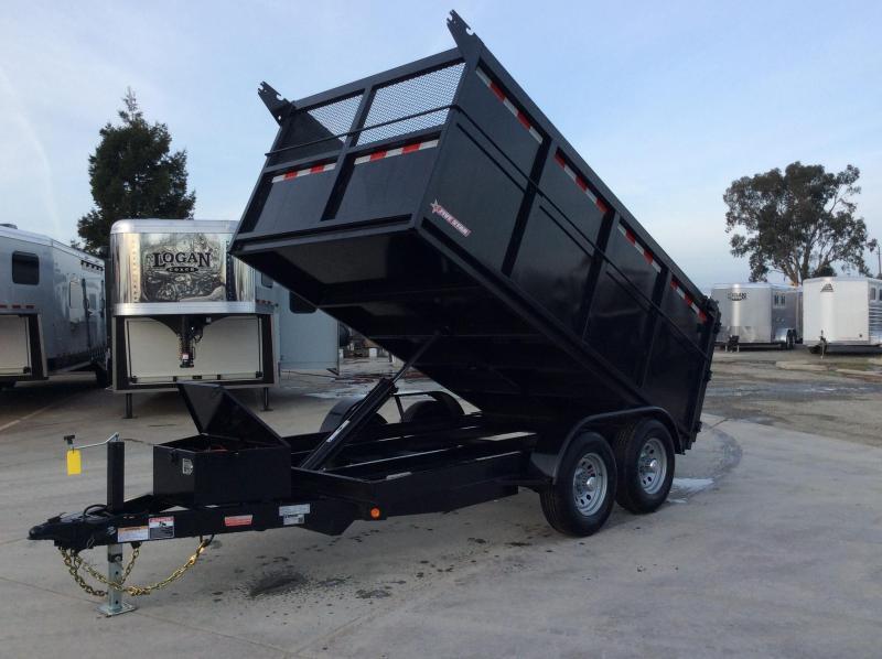 New 2020 Five Star DT262 6x12 10k Dump Trailer 4' sides