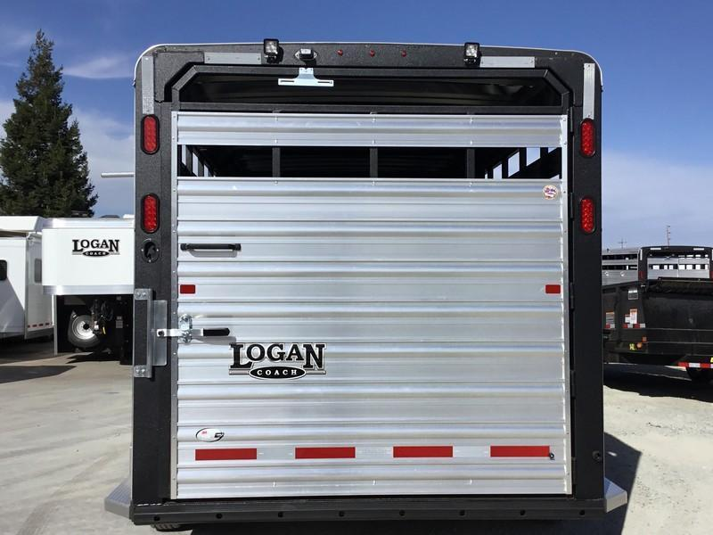New 2019 Logan Stockman 16' GN Livestock Trailer