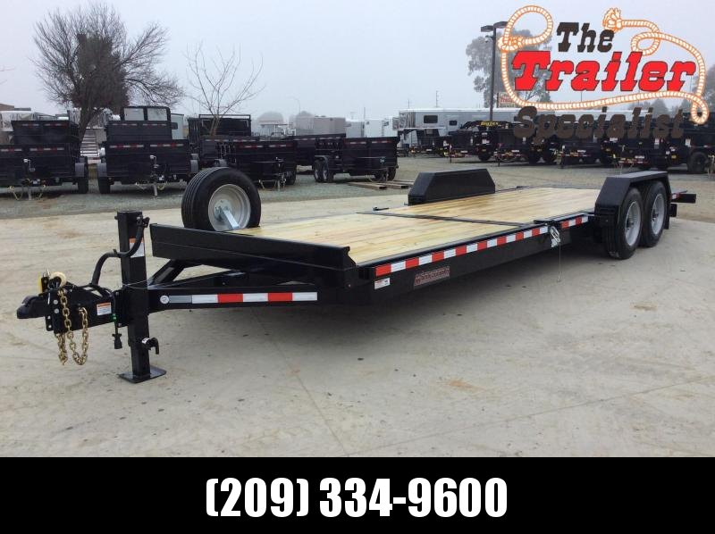 2020 Midsota TB24 Equipment Trailer 7X20 17K TILT