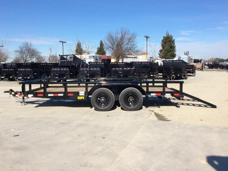New 2020 Big Tex 10PI-16 7x16 10K GVW Pipe Utility Trailer