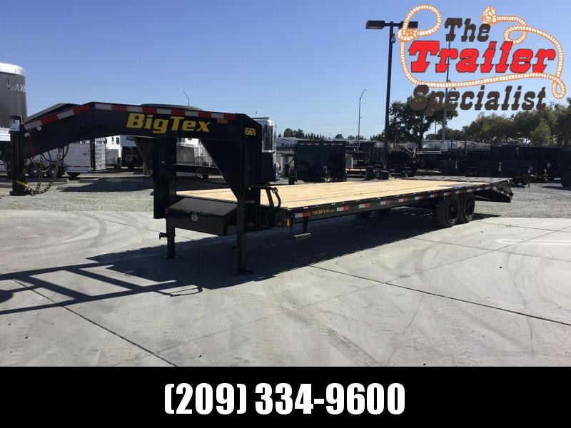 2020 Big Tex Trailers 16GN-25+5MR Equipment Trailer