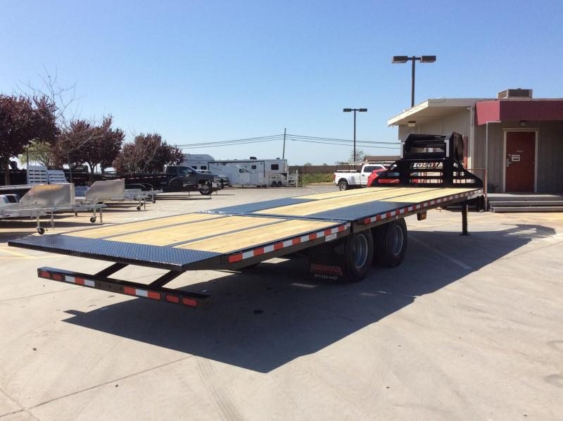 NEW 2020 Midsota Heavy Duty 28ft GN hydraulic beaver tail Equipment Trailer