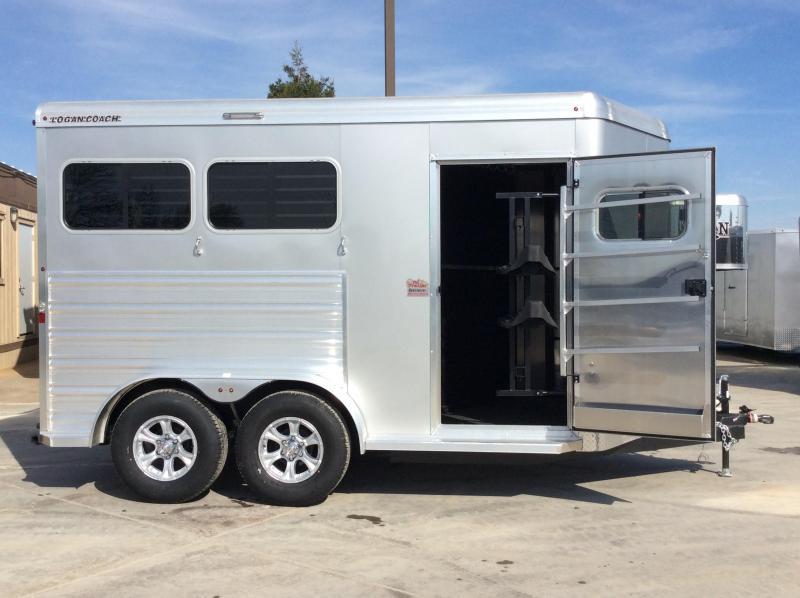 2020 Logan Coach 2H Riot BP Horse Trailer L08303