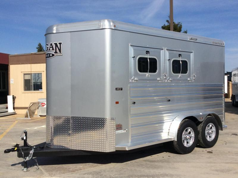 2020 Logan Coach 2H Riot BP Horse Trailer L08303