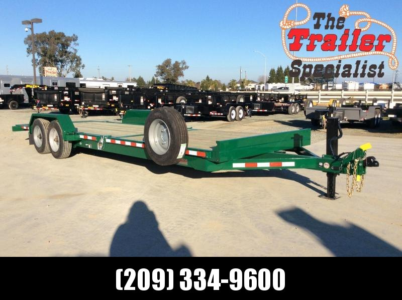 2020 Midsota TB-24 Equipment Trailer 17k Tilt