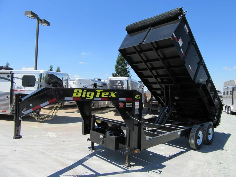 New 2020 Big Tex Trailers 14GX-16P3 Dump Trailer 14K GVW