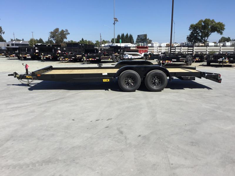 NEW 2020 Big Tex Trailers 10CH-20DT Car / Racing Trailer