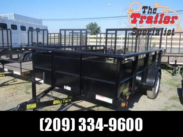 New 2020 Big Tex 35SV-10 6.5x10 Utility Trailer