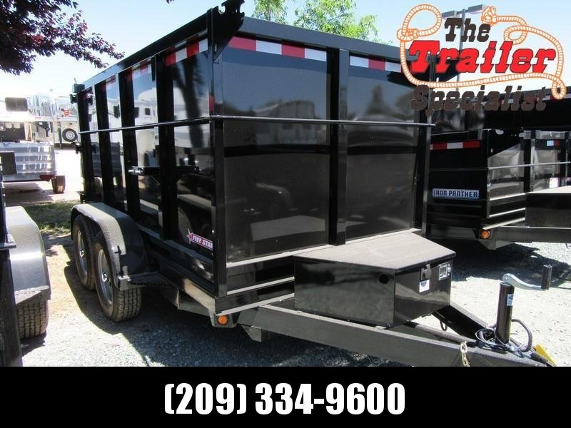 New 2020 Five Star DT098 5x10 7K GVW Dump Trailer