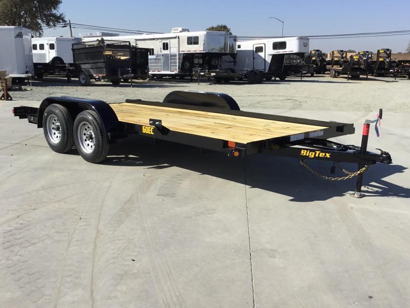 2020 Big Tex Trailers 60EC-18 Car/Racing Trailer 83 x 18 Car / Racing Trailer