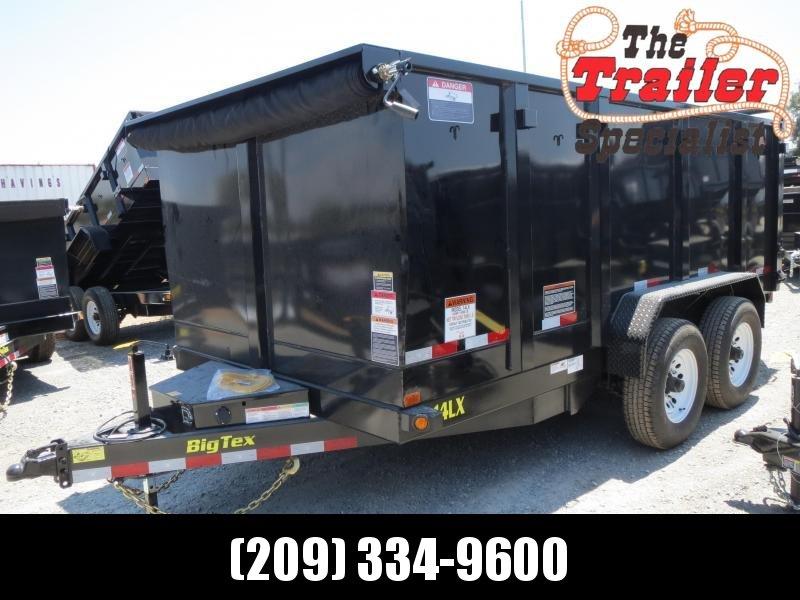 NEW 2020 Big Tex 14LX-14P4 4' sides 14K Dump Trailer