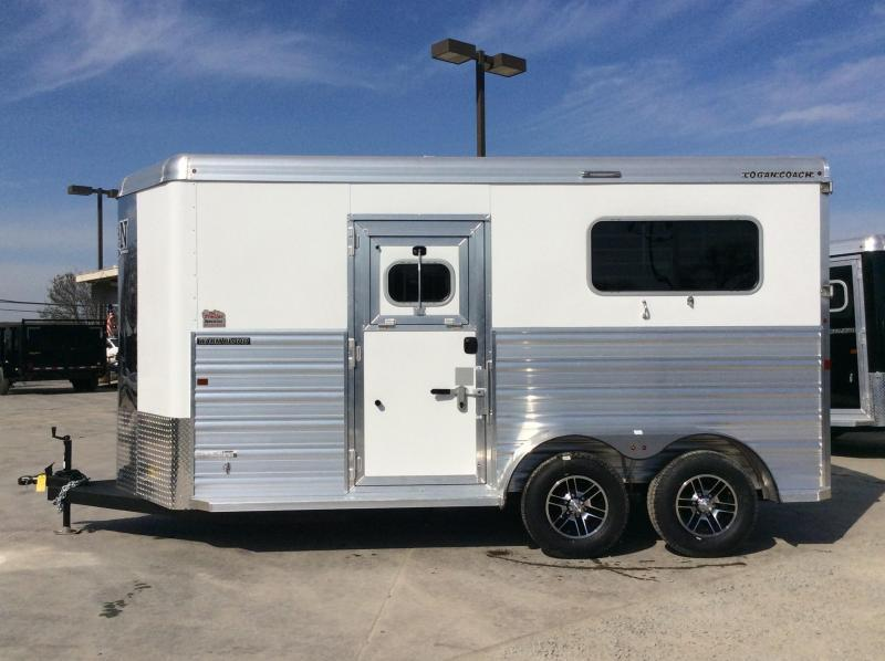 2020 Logan Coach 2H XTR Warmblood BP Horse Trailer