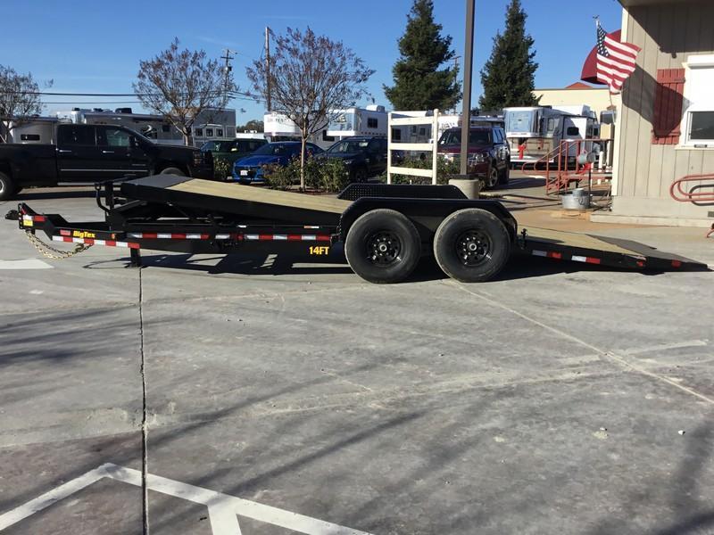 NEW 2020 Big Tex 14FT-20 7x20 14K GVW Tilt Equipment Trailer