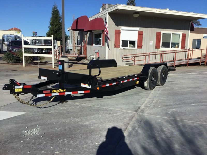 NEW 2020 Big Tex 14FT-20 7x20 14K GVW Tilt Equipment Trailer