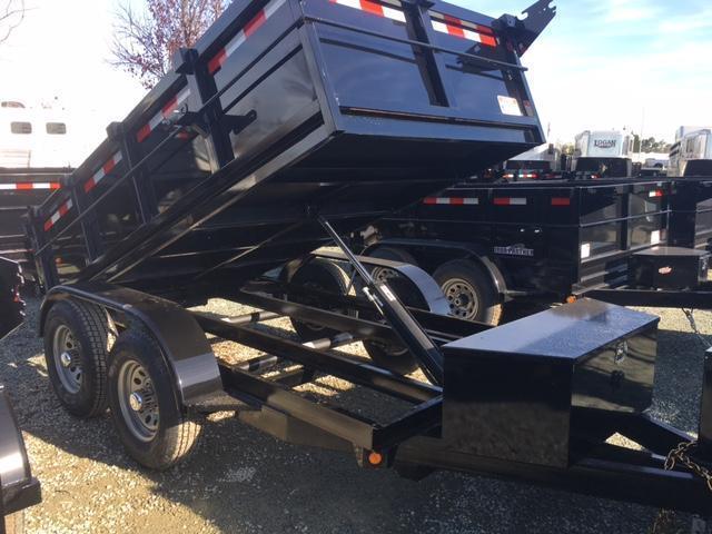 New 2020 Five Star DT255 5x10 10K GVW Dump Trailer