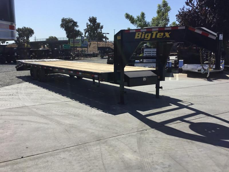 2020 Big Tex Trailers 16GN-255MR Equipment Trailer