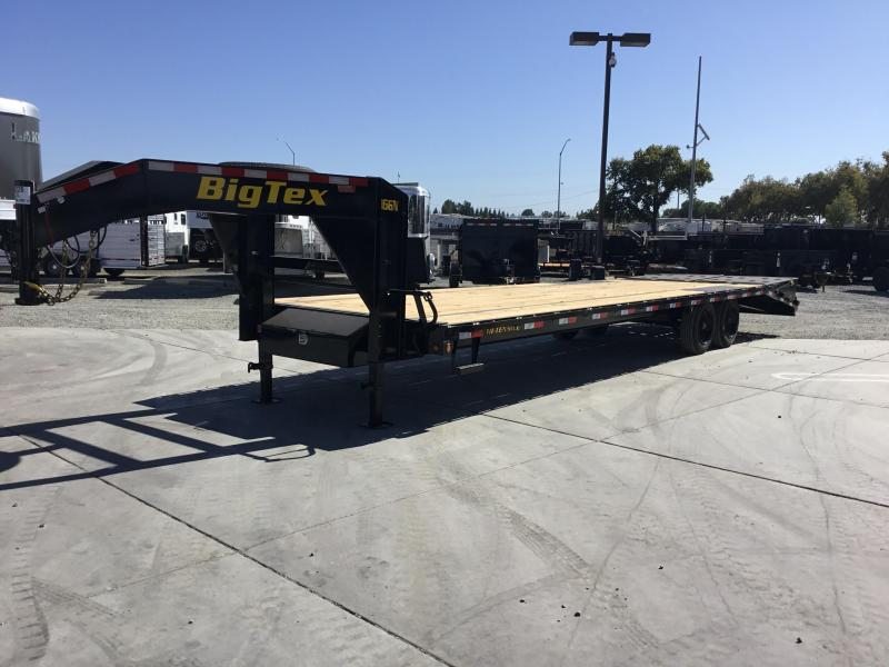 2020 Big Tex Trailers 16GN-255MR Equipment Trailer