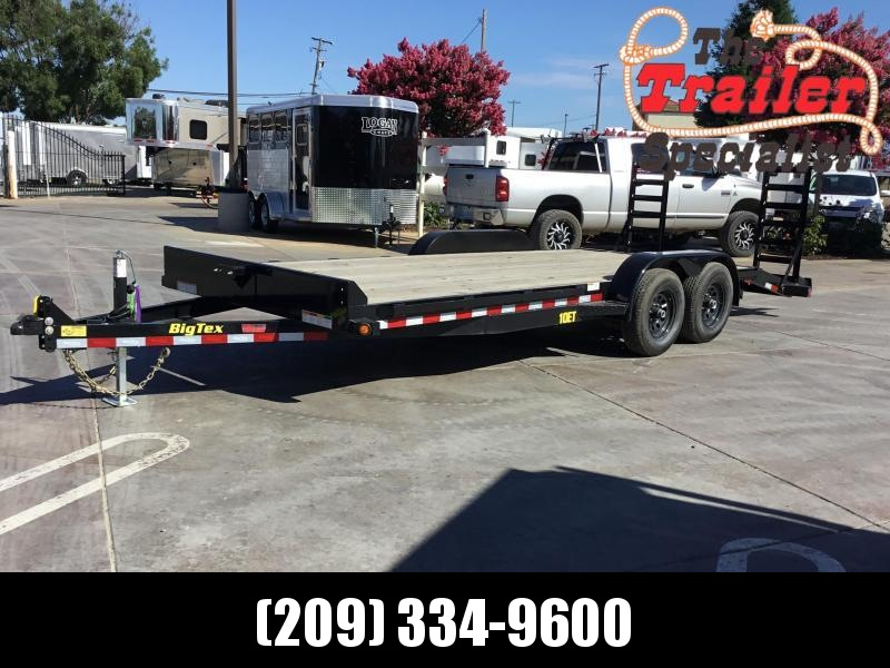 New 2019 Big Tex 10ET-20KR 7x20 10K GVW Equipment Trailer
