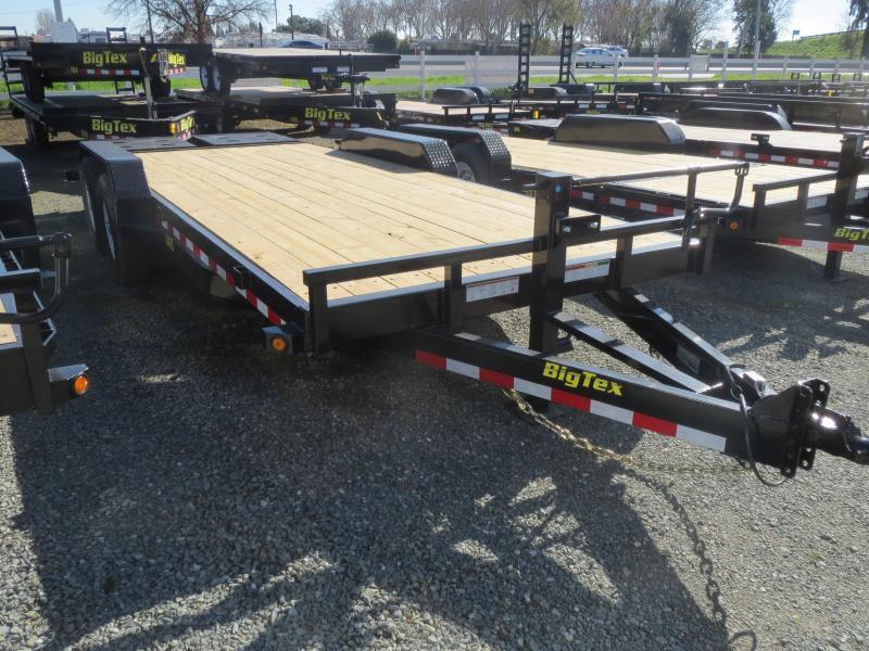NEW 2020 Big Tex 14ET-20MR 7x20 14K GVW Equipment Trailer