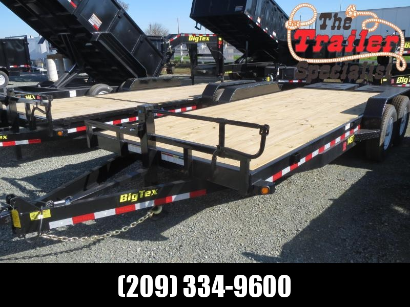 NEW 2020 Big Tex 14ET-20MR 7x20 14K GVW Equipment Trailer