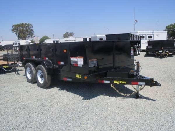 "NEW 2020 Big Tex 14LX-14 83""x14' 14K Dump Trailer"