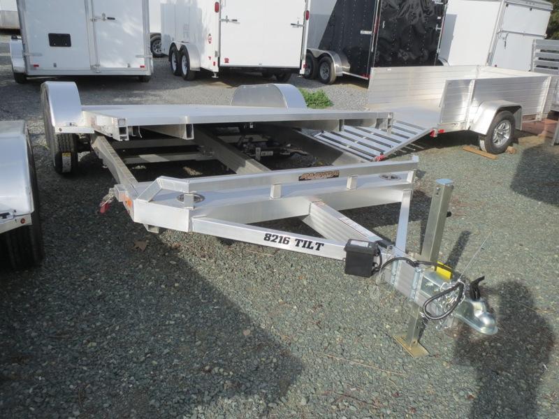 "New 2020 Aluma 8216TILT 82""x16' Car/Racing Trailer"