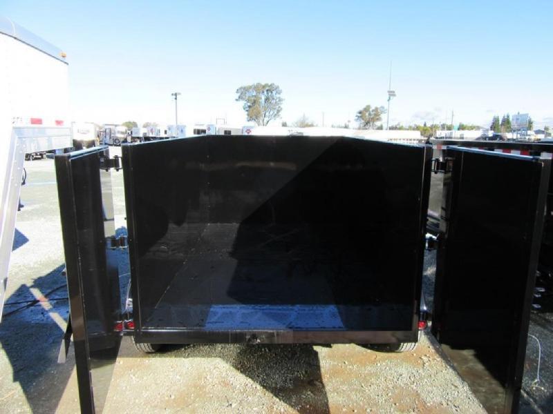 New 2020 Five Star DT260 6x12 7k Dump Trailer 4' Sides