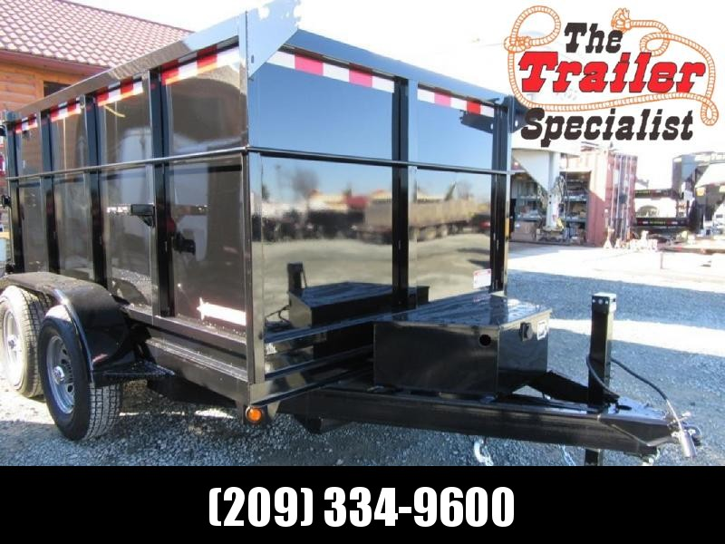 New 2020 Five Star DT260 6x12 7k Dump Trailer 4' Sides
