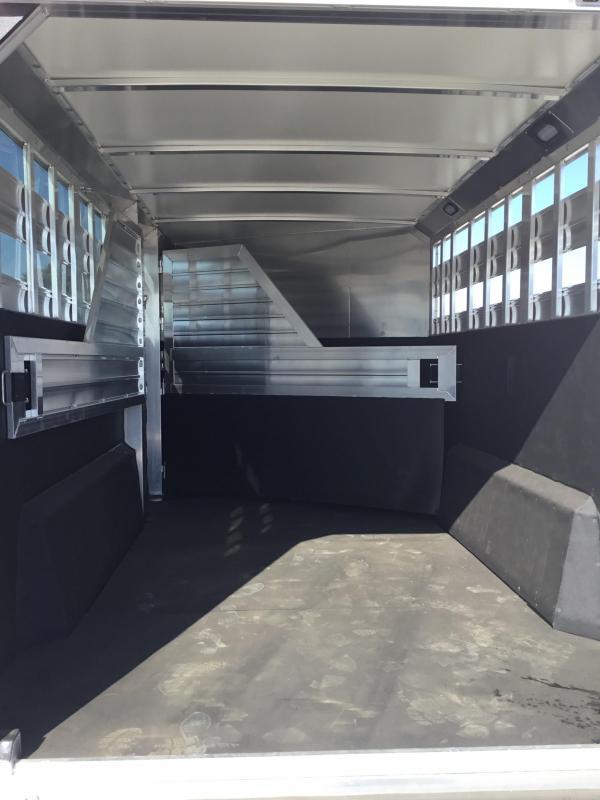 NEW 2020 Hart Trailers 22' Stock combo dual tack door Livestock Trailer